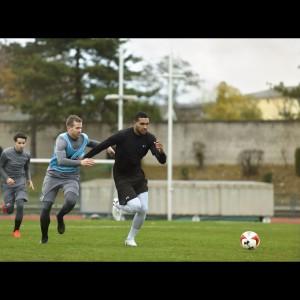 Jonathan Tah in den Clutchfit 3.0 Fußballschuhen 2017 von Under Armour