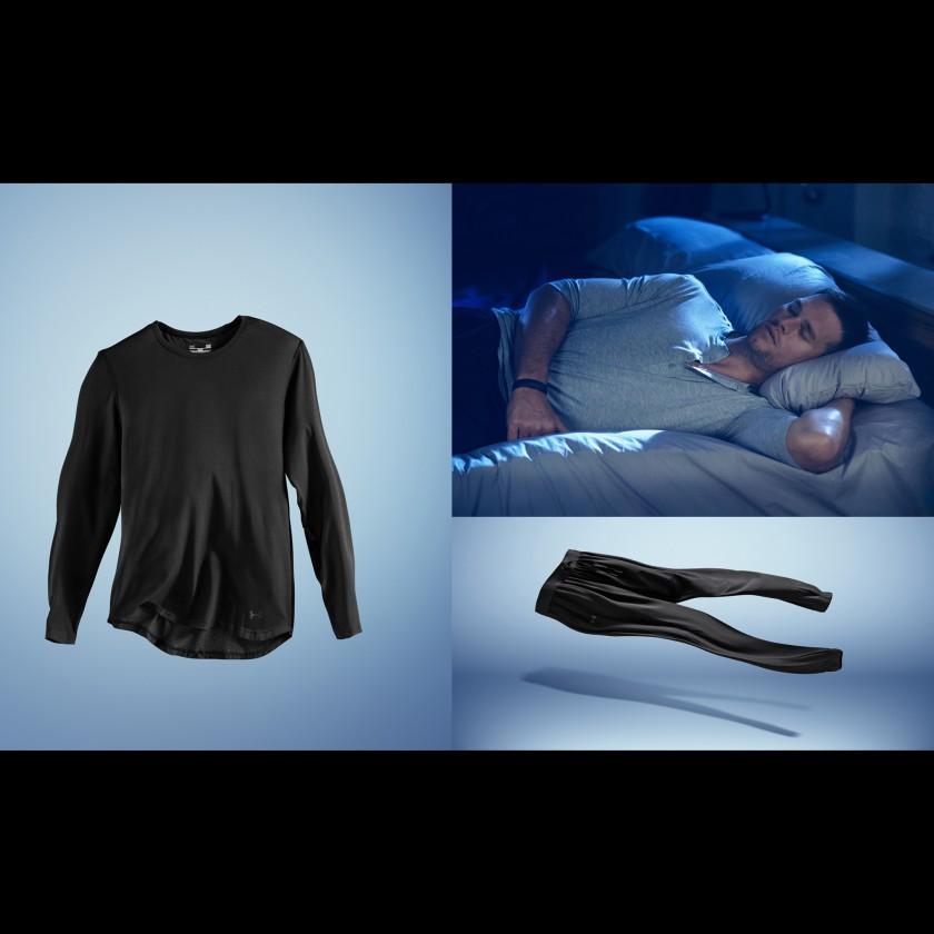 Tom Brady in der Recovery Sleepwear TB12 2017 von Under Armour
