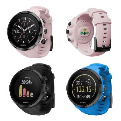 Spartan Sport Wrist HR GPS-Multisportuhr mit Herzfrequenzmessung am Handgelenk sakura, schwarz, blau 2017 von SUUNTO