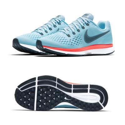 AIR ZOOM PEGASUS 34 Laufschuhe Herren seitlich, sohle 2017 von Nike