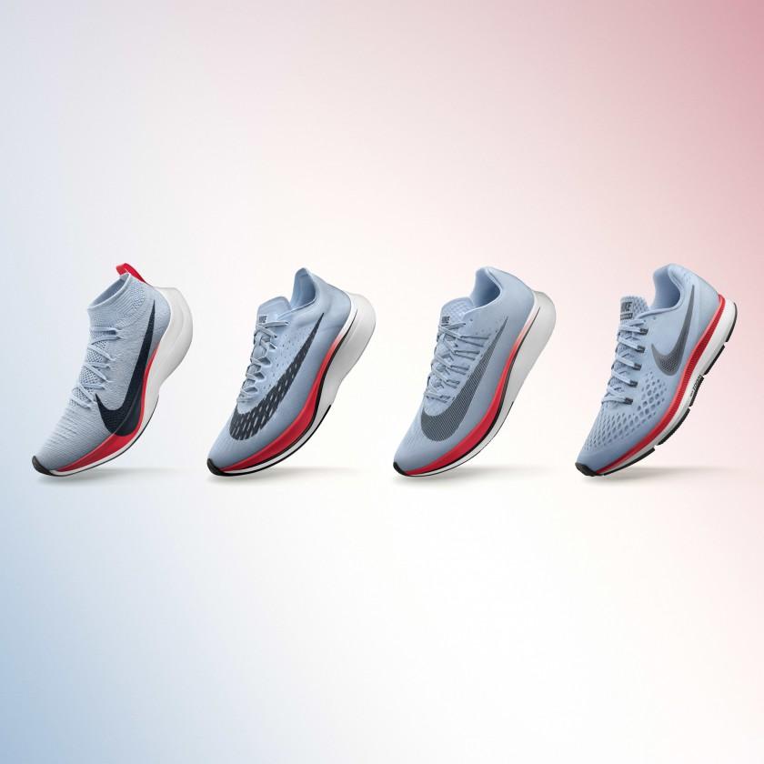 Breaking2 Laufschuhe: ZOOM VAPORFLY ELITE, ZOOM VAPORFLY 4, ZOOM FLY  AIR ZOOM PEGASUS 34 2017 von Nike