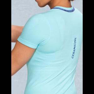Ceramicool Seamless Shirt Damen hinten 2017 von ODLO