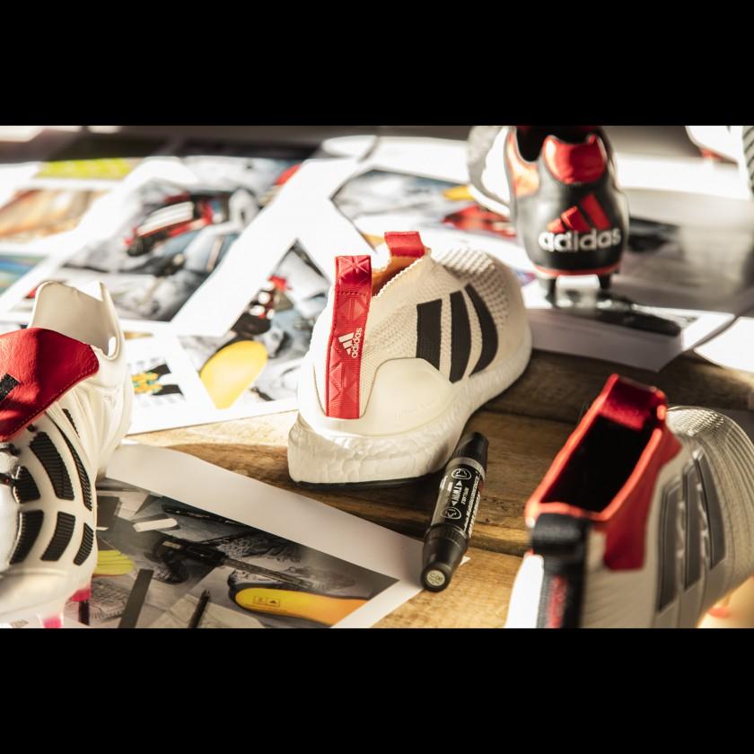 ACE16+ PURECONTROL UltraBOOST Laufschuhe Champagne Pack hinten 2017 von adidas