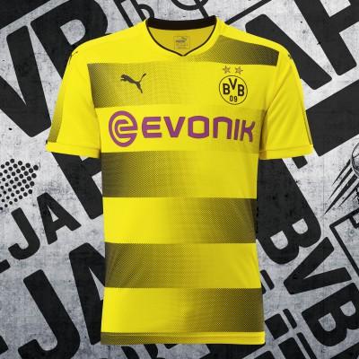 Borussia Dortmund Heimtrikot vorne Saison 2017/18 von PUMA