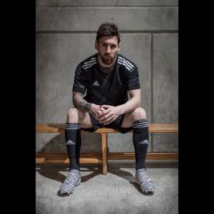 Lionel Messi in seinen Nemeziz Fußballschuhen 2017 von adidas