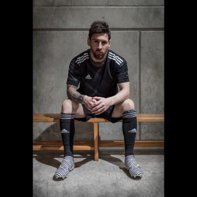 Lionel Messi in seinen Nemeziz Fuballschuhen 2017 von adidas