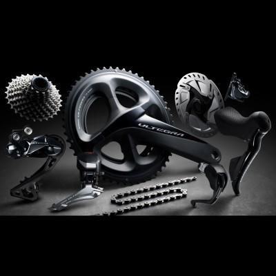 ULTEGRA R8050 - hydraulische Scheibenbremsen u. Di2-Komponenten 2017 von Shimano