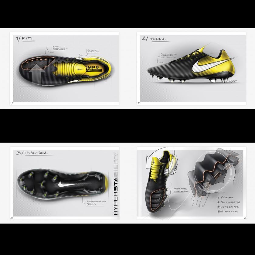 Tiempo Legend 7 Fußballschuhe Fit - Touch - Traktion Zeichnungen 2017 von Nike