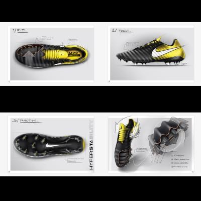 Tiempo Legend 7 Fuballschuhe Fit - Touch - Traktion Zeichnungen 2017 von Nike