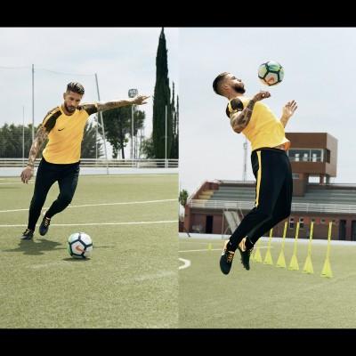 Sergio Ramos in Aktion im neuen Tiempo Legend 7 Fuballschuh 2017 von Nike