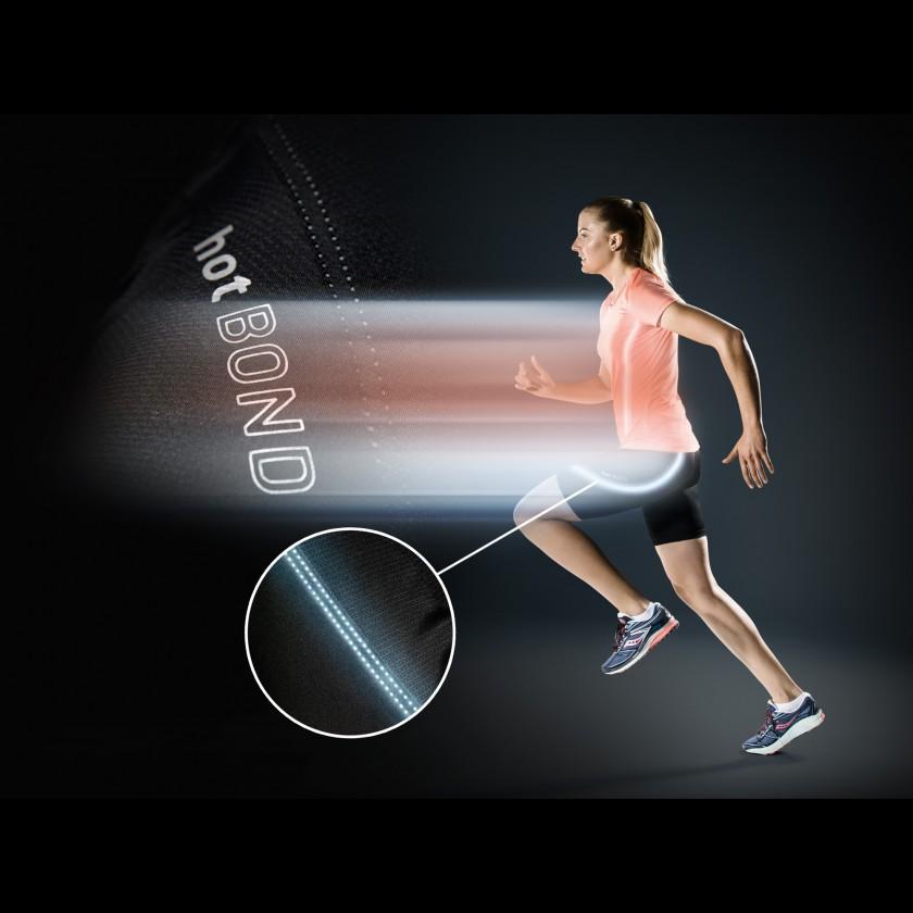 Running Shirt  Shorts Damen Action mit HotBond reflective Material 2018 von Lffler