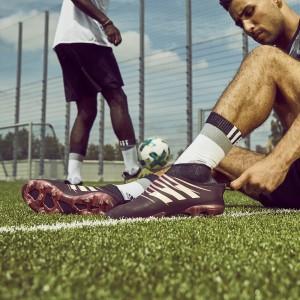 GLITCH Fußballschuhe mit wechselbarer Außenhaut - schwarz/weiß 2017 von adidas