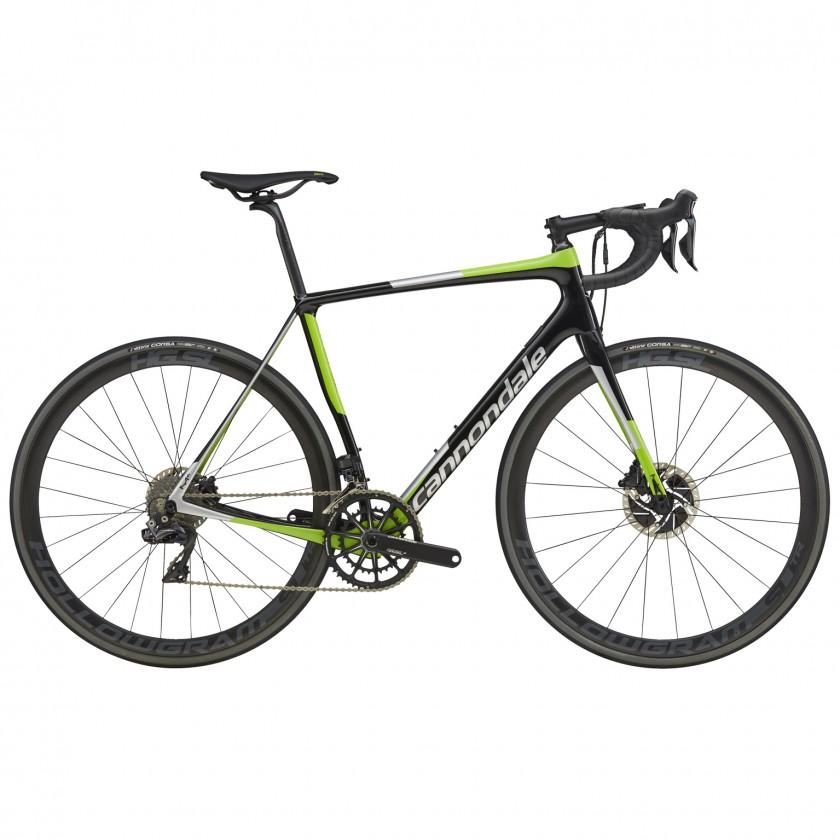 Synapse Hi-MOD Endurance-Rennrad mit Scheibenbremsen u. Shimano Dura Ace Di2 2017 von Cannondale