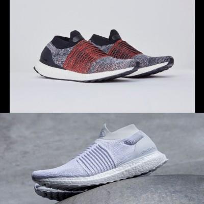 UltraBOOST Laceless Laufschuhe seitlich 2017 von adidas