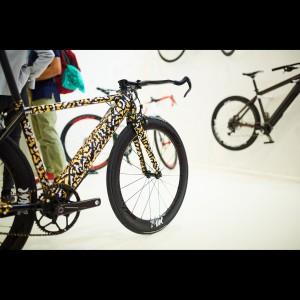 FAZUA Eurobike-Stand 2017: Philipp Wulk Fahrrad mit evation Antrieb