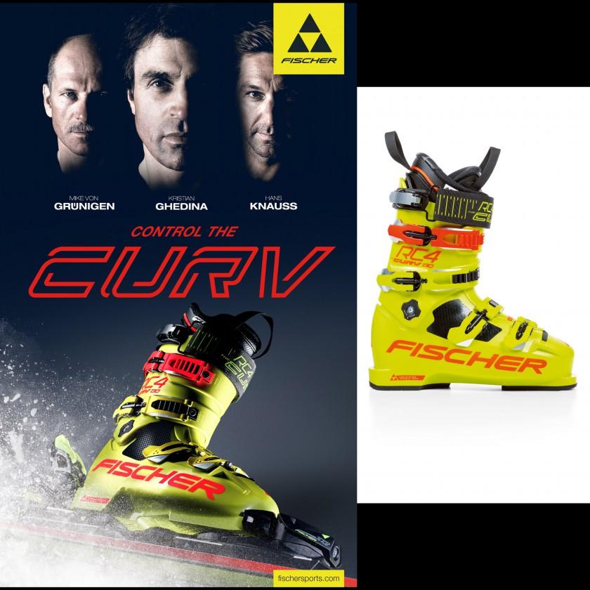 RC4 CURV 130 Skischuhe 2017/18 von Fischer