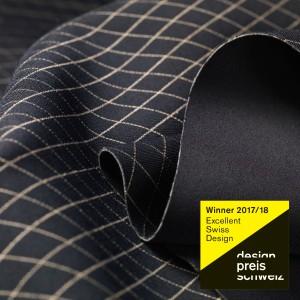 E-soft-shell Material der Schoeller Textil AG gewinnt Design Preis Schweiz 2017