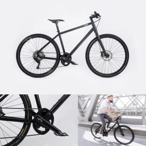 Franklin Urban-Bike mit cyfly-Technologie 2018 von Möve Bikes