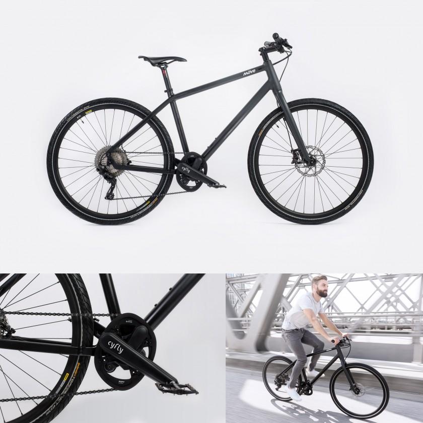 Franklin Urban-Bike mit cyfly-Technologie 2018 von Mve Bikes