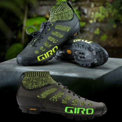 Empire VR 70 Knit Mountainbike-Schuhe aus Strickgewebe seite, sohle 2018 von Giro Sports Design