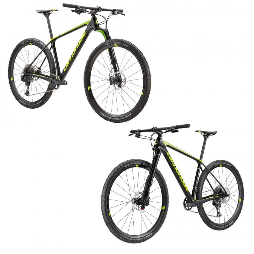 F-Si Mountainbike mit Lefty Ocho seitlich links u. rechts 2018 von Cannondale
