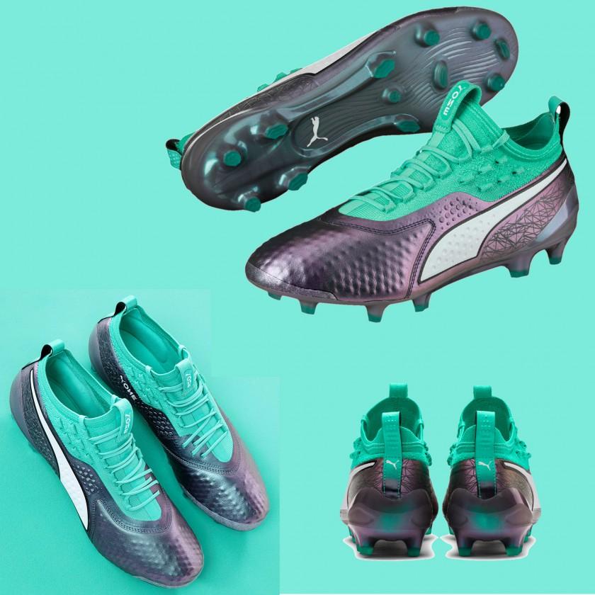ONE 1 Fußballschuhe Illuminate Pack für die WM 2018 von PUMA