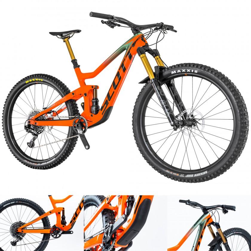 Ransom 900 TUNED Mountainbike Fully 29 Zoll seitlich, heck, unten, front 2019 von Scott Sports