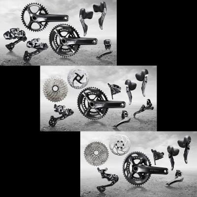 Shimano GRX Di2 1x11  2x11, GRX 2x11  GRX 2x10 Gravel-Komponentengruppen 2019