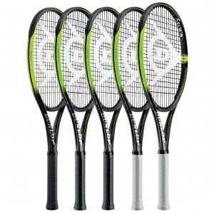 SX-Tennisschläger-Serie mit Spin Boost-Technologie 2019 von Dunlop