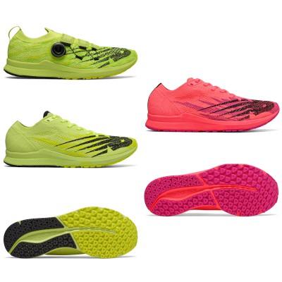 1500v6 Wettkampflaufschuhe mit und ohne BOA-Lacing-System Herren neon-gelb/Frauen pink 2019 von New Balance