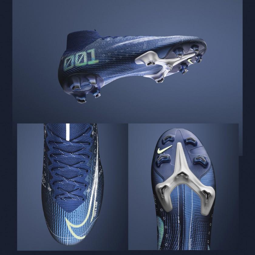 Nike Mercurial Dream Speed Fußballschuh seitlich, schnürung, sohle 2019