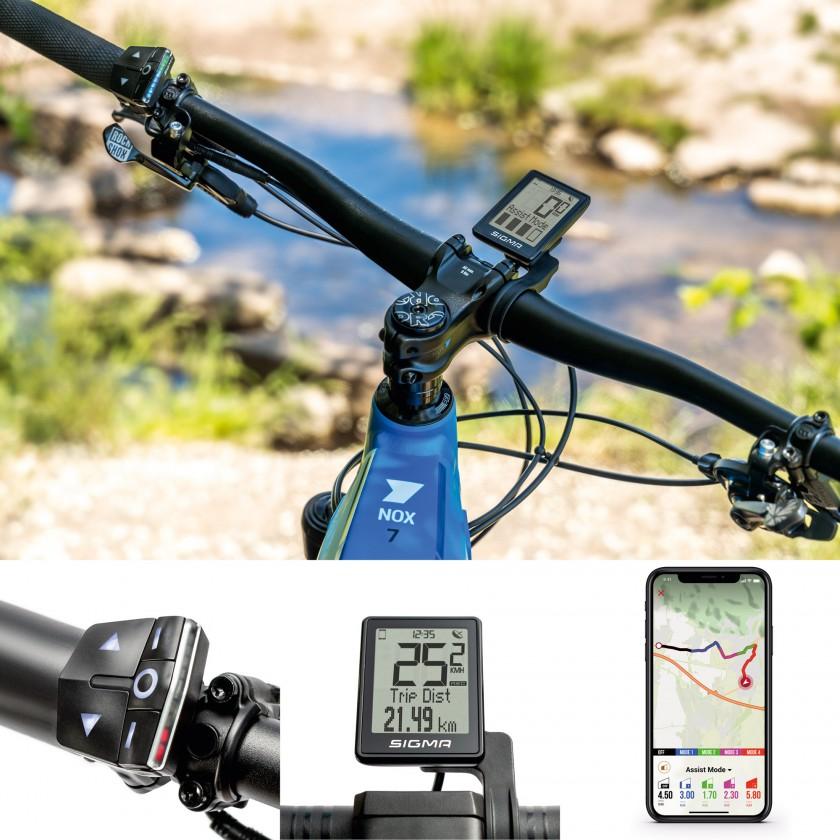 EOX E-Bike-Serie von SIGMA SPORT mit Bedieneinheit, Display und App 2020
