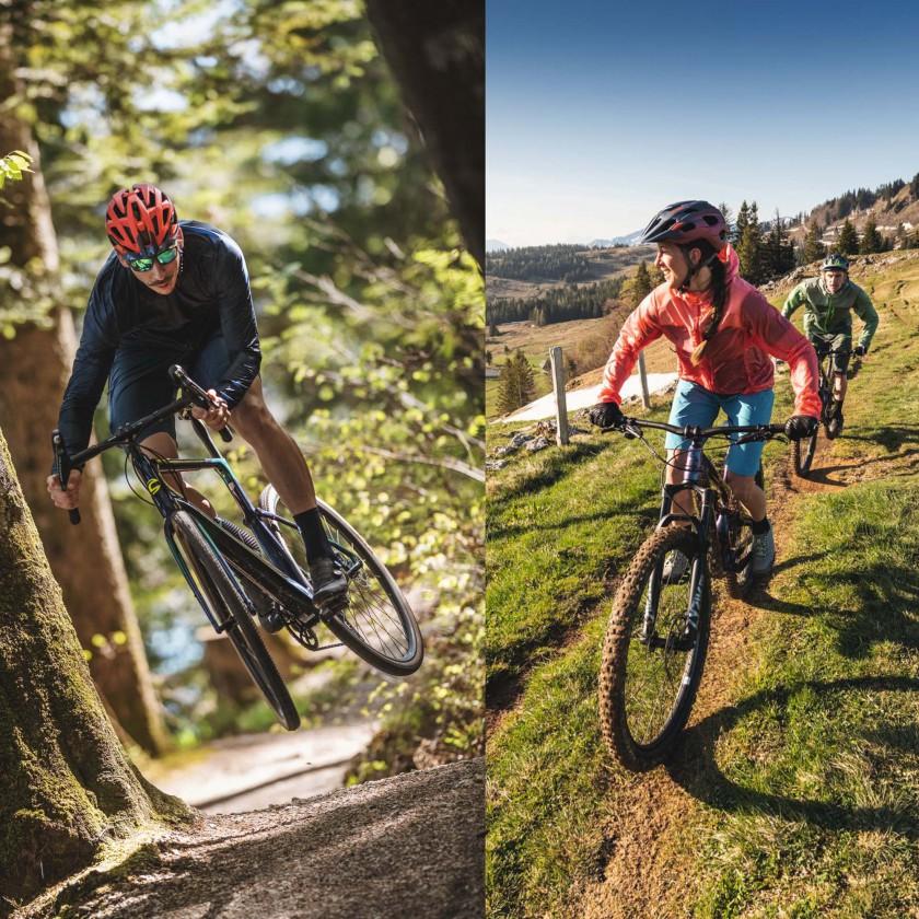 Bike-Bekleidung von Schöffel für die Segmente Gravel und Trail 2021