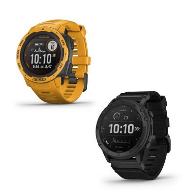 Instinct Solar Sport-Smartwatch und Tactix Delta Solar taktische GPS-Multisport-Smartwatch 2020 von Garmin