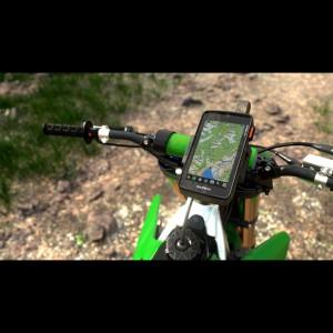 Garmin Montana 750i Outdoor-GPS-Navigationsgert am Fahrradlenker 2020