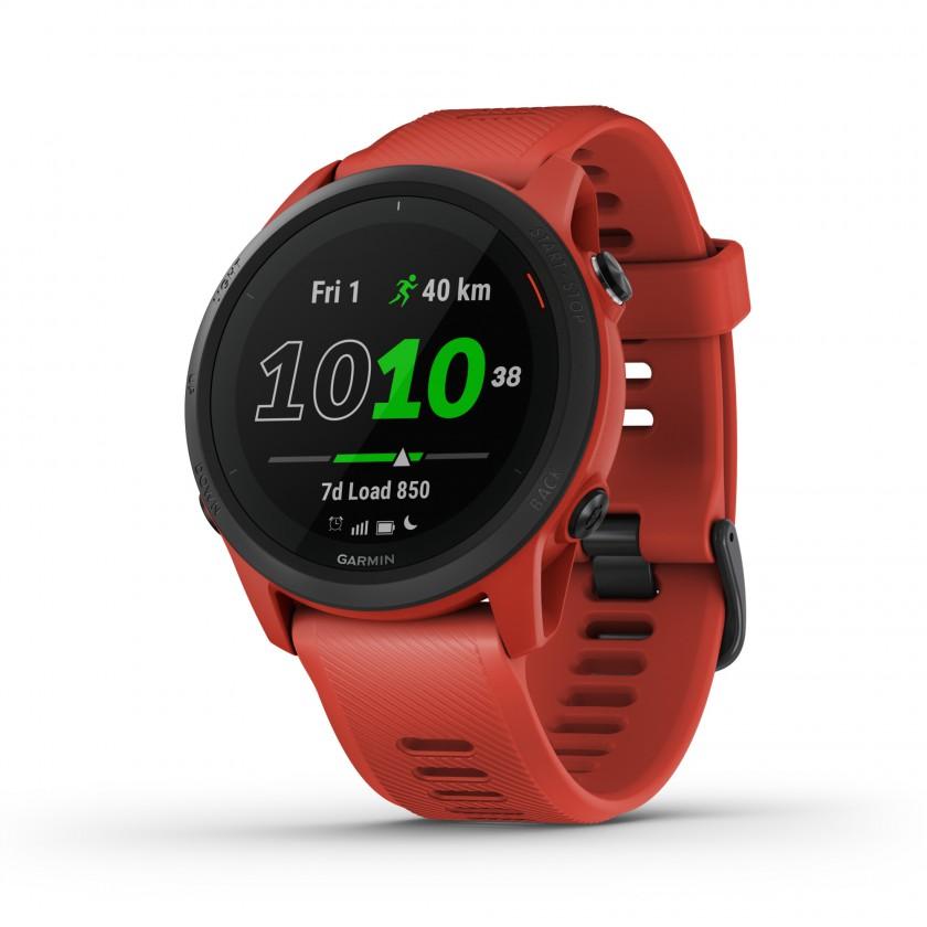 Forerunner 745 GPS Lauf- und Triathlonuhr rot/schwarz 2020 von Garmin