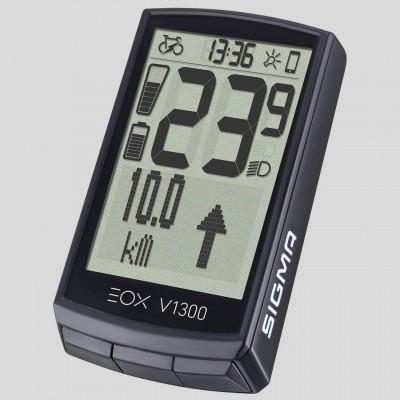 SIGMA EOX-VIEW 1300 kabelloser E-Bike Fahrradcomputer 2020