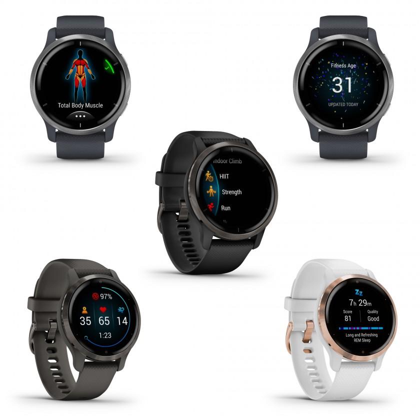 Garmin Venu 2 und Venu 2S GPS-Multisport-Smartwatch 2021