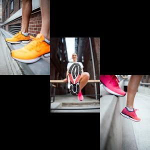 True Motion Solo Laufschuhe mit Double U-TECH Technologie Damen Herren 2021