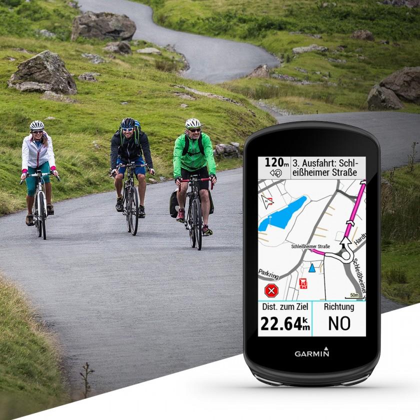 Verbesserten Navigations- und Kartenfunktionen fr die GPS-Radcomputer Edge 530, Edge 830, Edge 1030 und Edge 1030 Plus