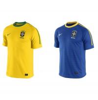 NIKE: Brasiliens Nationaltrikots fr die Fuball-WM 2010 in Sdafrika