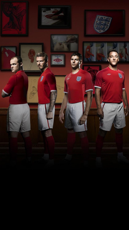 umbro: Englands Nationaltrikot fr die WM in Sdafrika - Away