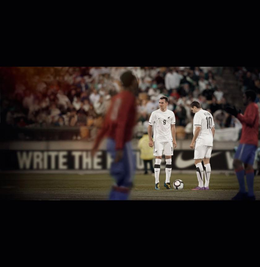NIKE: Neusseelands Nationaltrikot für die Fußball-WM 2010 in Südafrika