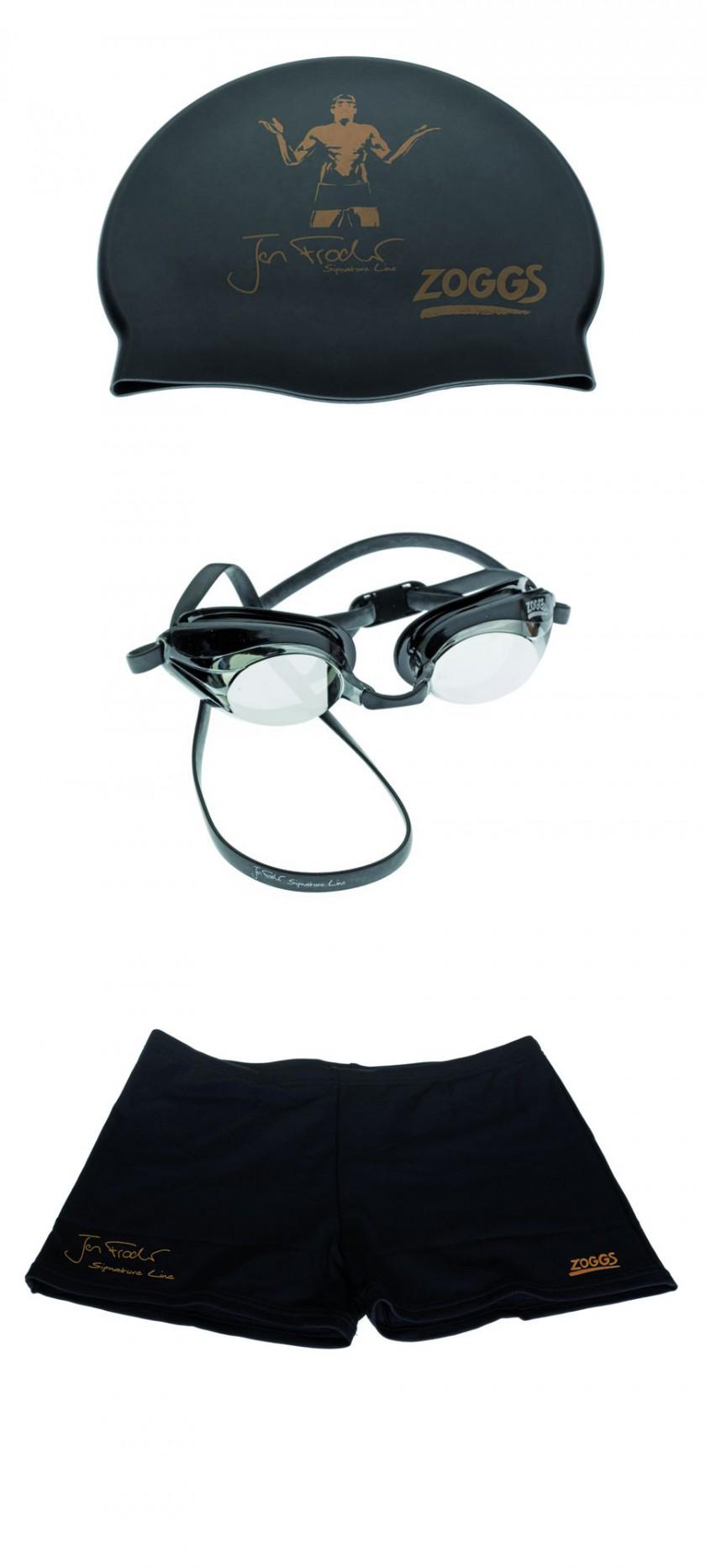 Die Signature Line von Jan Frodeno mit Kappe, Brille und Hose