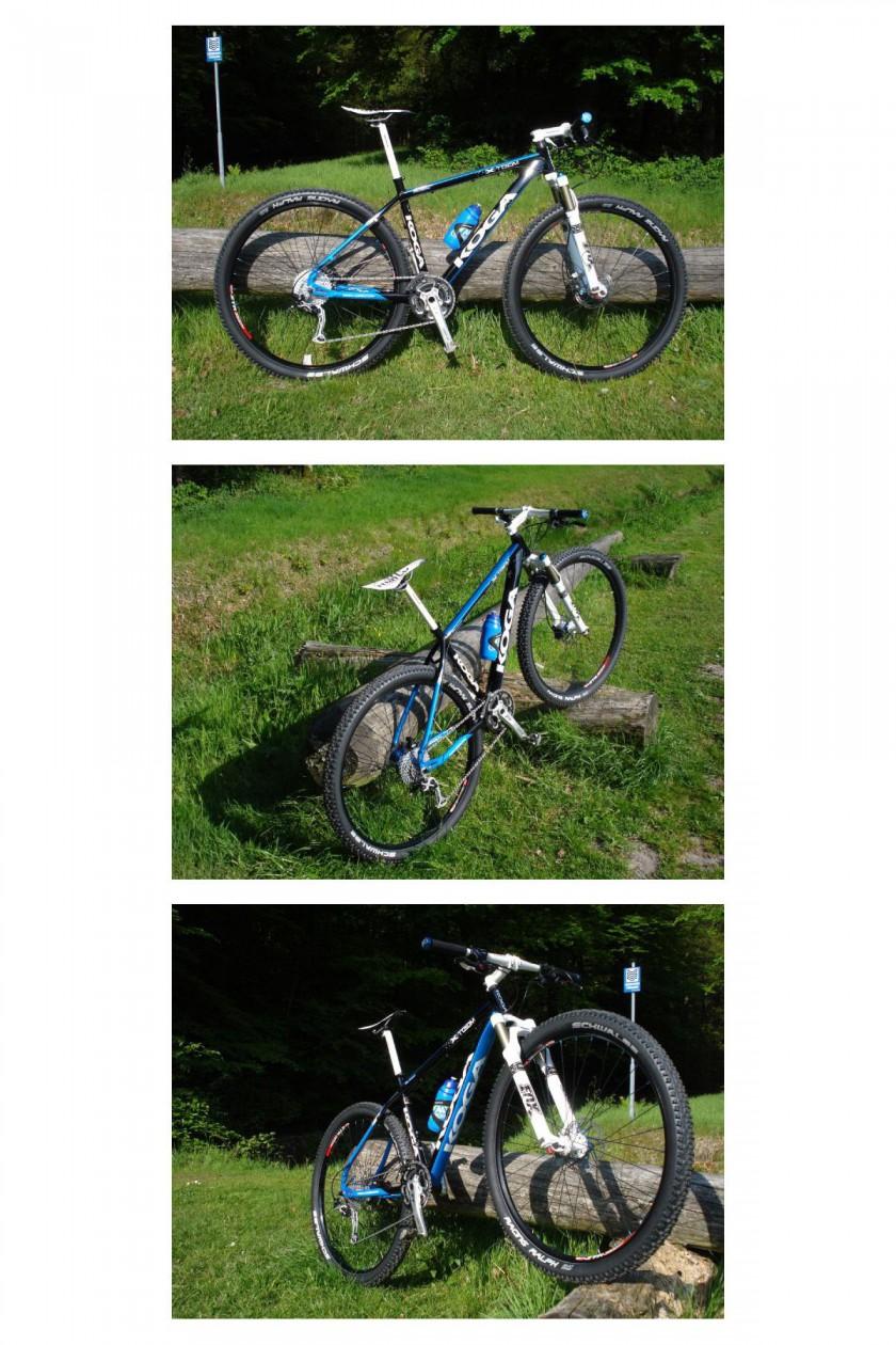 KOGA Mountainbike-Prototyp mit 29-Zoll-Rädern, neuen Rahmen und neuer Aluminiumlegierung 6069