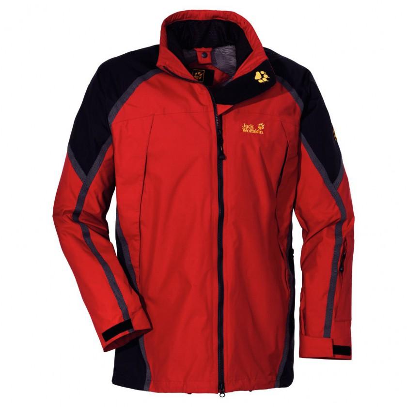 Escalade Jacket Men - tango red