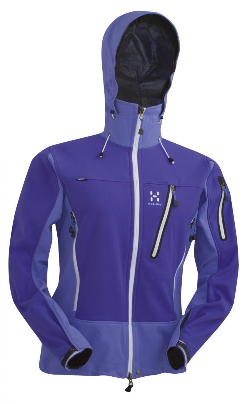 Outdoorjacke Jaw Q Jacket in Lilac Blaze/Flash Lilace