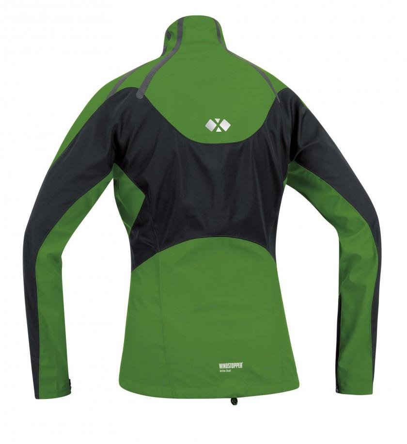 GORE RUNNING WEAR: Windstopper X-Running AS Women green back