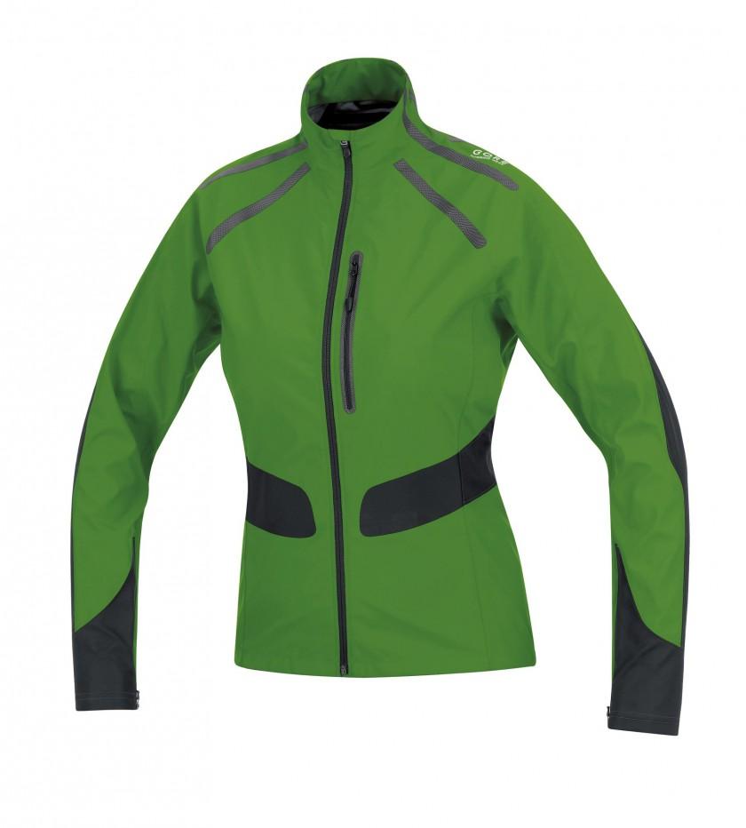GORE RUNNING WEAR: Windstopper X-Running AS Women green front