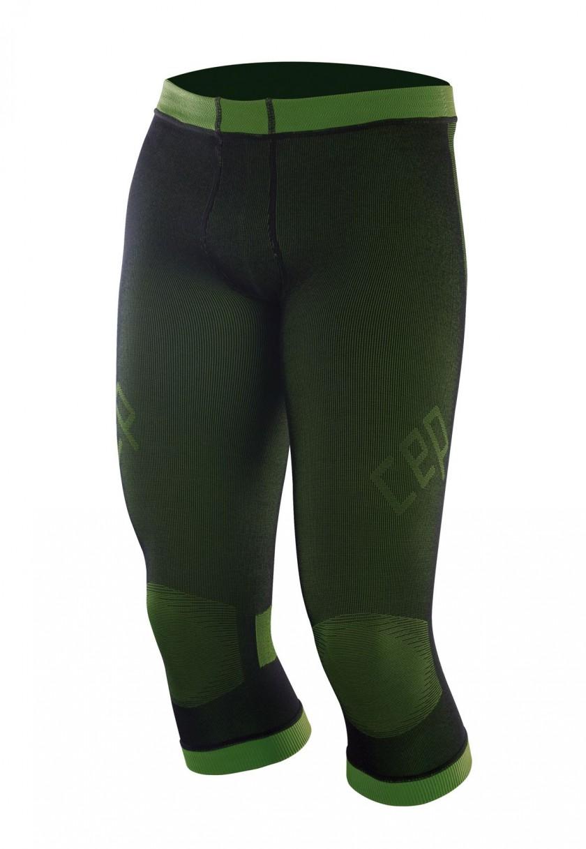 CEP compression inner pants men schwarz/grn